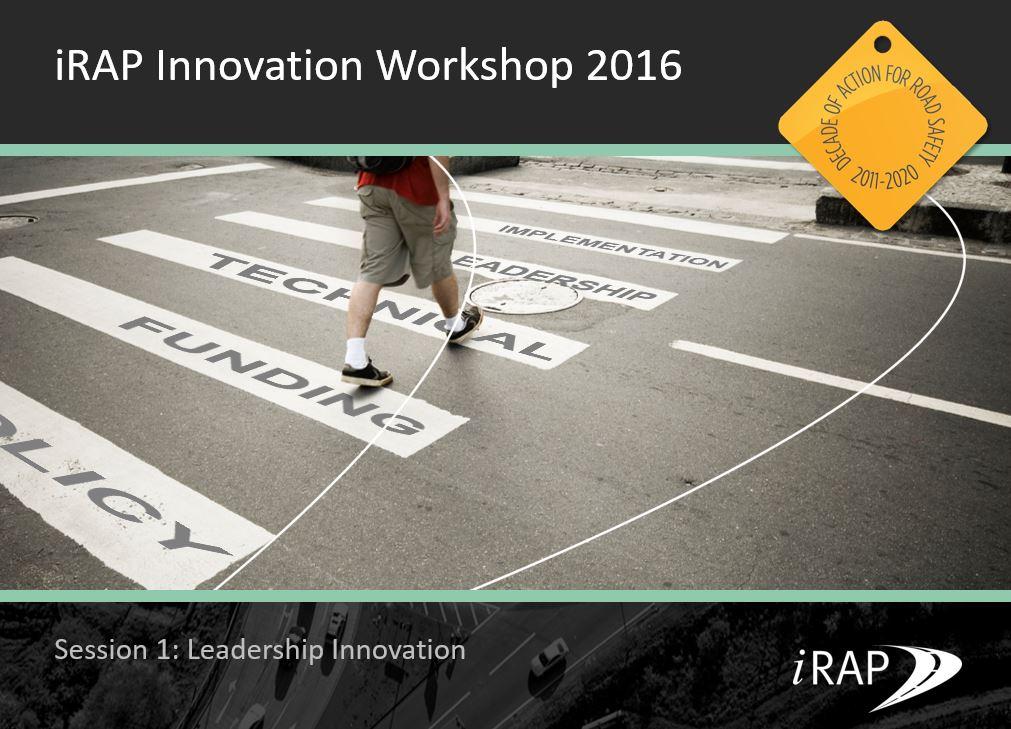 EVENT WRAP UP: Innovation workshop 2016
