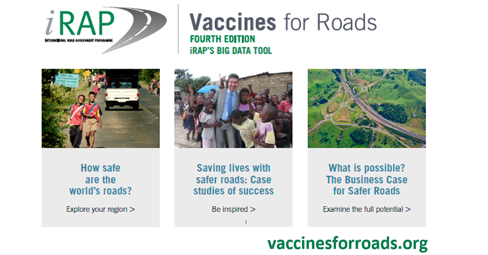 Vaccines for Roads Big Data Tool