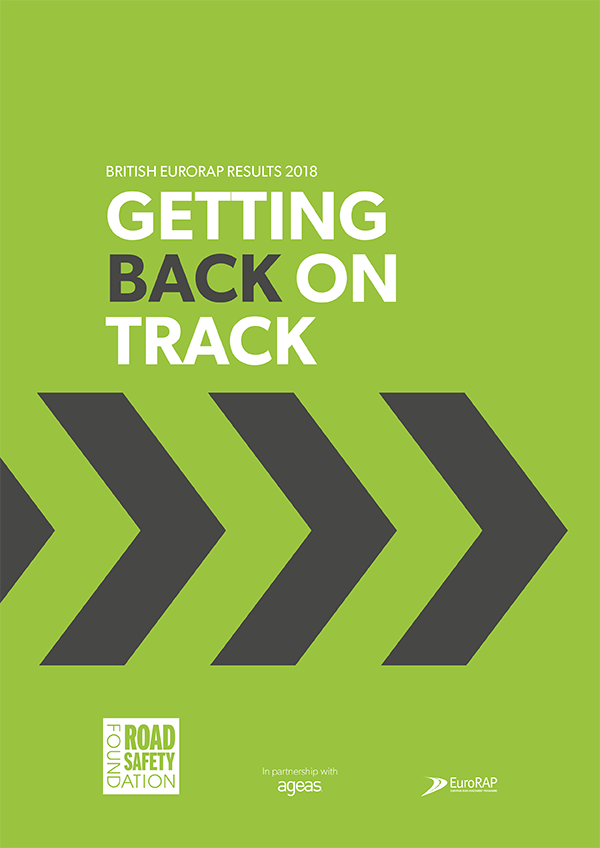 Getting Back on Track report – British EuroRAP results released by the Road Safety Federation