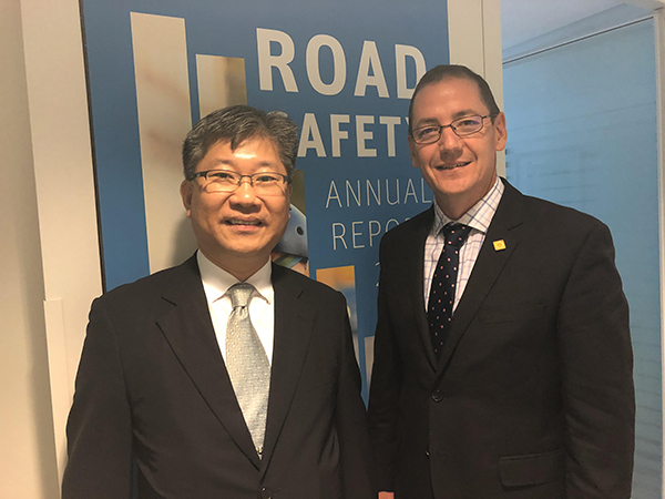 iRAP's CEO visit to ITF Head Office