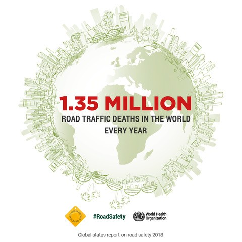 World Health Organisation (WHO) releases the Global Status Report on Road Safety 2018