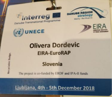 Project RADAR update at the 'Danube Region Transport Days 2018' Conference (Slovenia)