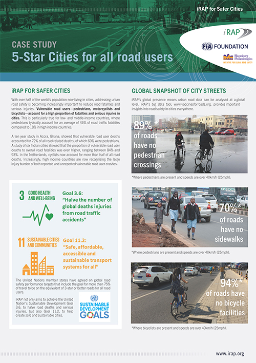 NEW Case study available: 5-Star Cities for all road users