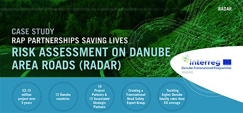 NEW: RISK ASSESSMENT ON DANUBE AREA ROADS (RADAR) Case Study