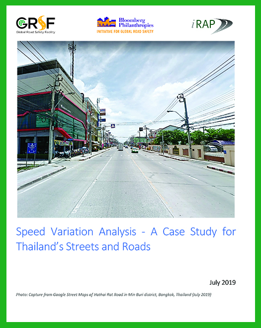 2019 ThaiRAP Speed Variation Analysis report supports the call to reduce speed limits