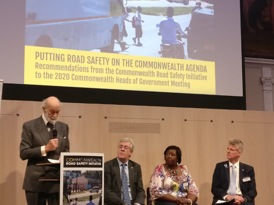 Putting Road Safety on the Commonwealth Agenda – iRAP supports the launch of the Commonwealth Road Safety Initiative report