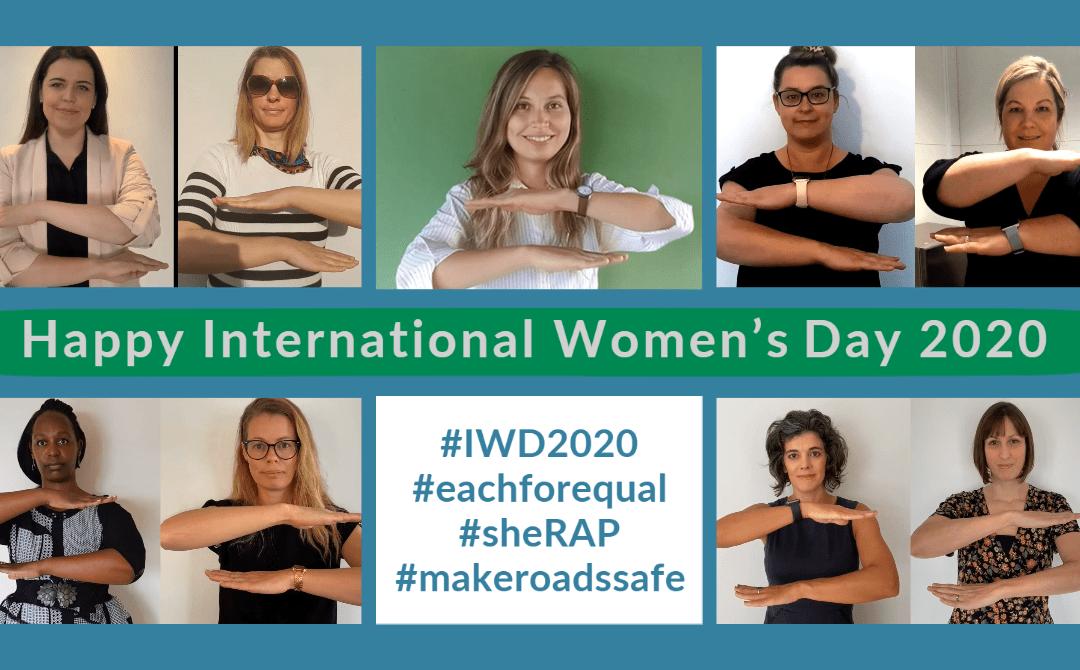 iRAP celebrates International Women's Day 2020