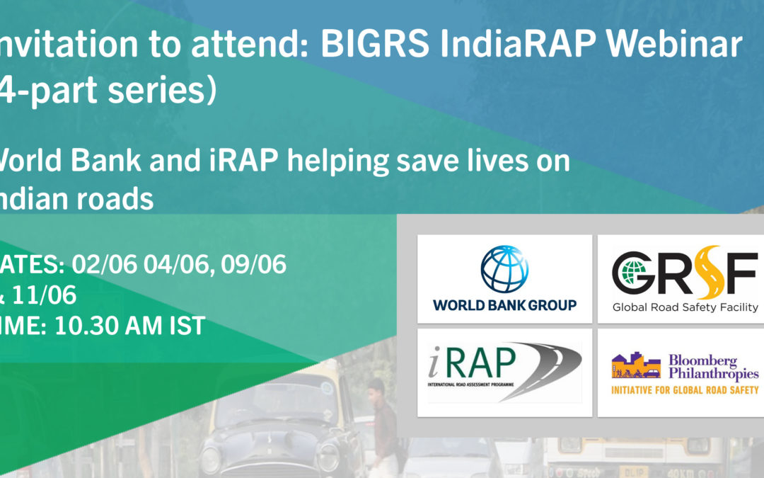 Invitation to attend: BIGRS IndiaRAP webinar series (June 2020)