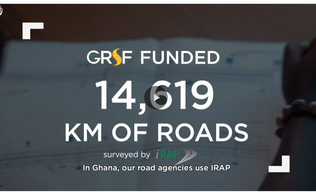 GRSF and iRAP improving road safety through speed management in Accra, Ghana
