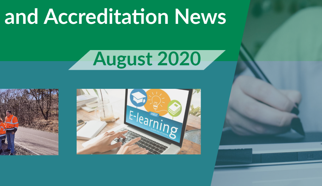Latest edition of iRAP's Training and Accreditation newsletter available (August 2020 edition)