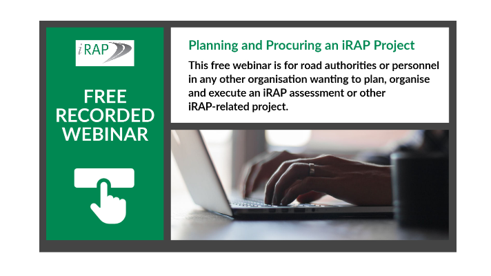 Free Recorded Webinar – Planning & Procuring an iRAP Project