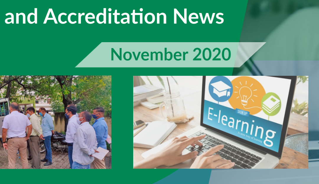 Training and Accreditation November 2020 newsletter now available