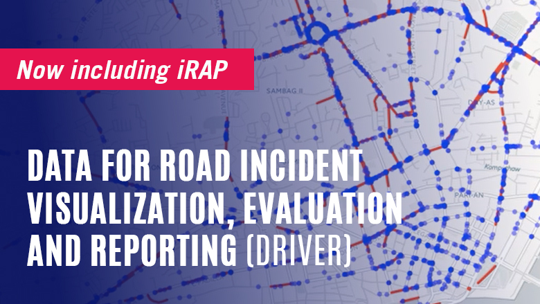 Crash and iRAP Star Rating data now linked in DRIVER