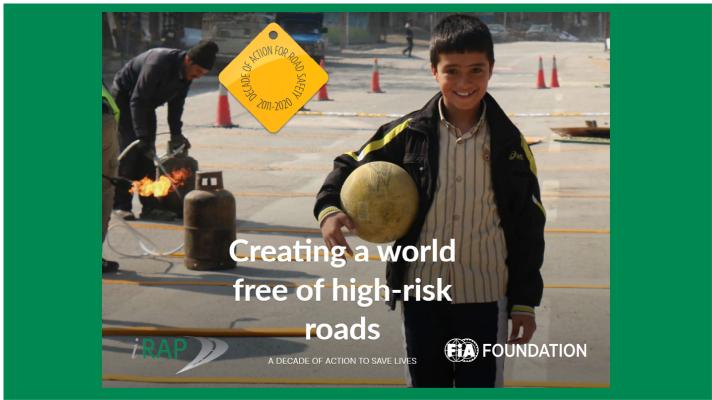 Una década de acción para carreteras más seguras: iRAP publica resultados