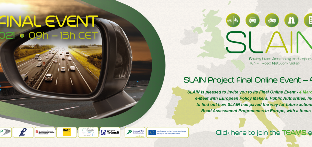 Join the EC CEF SLAIN Project Final Event – March 2021