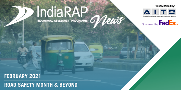New IndiaRAP newsletter – Road Safety Month and Beyond