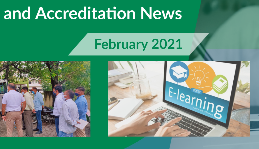 NEW Training & Accreditation Newsletter – What's new for 2021?