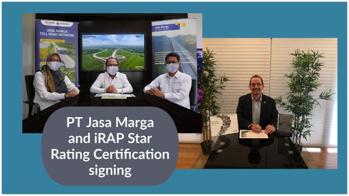 Платные дороги Индонезии получили сертификат iRAP