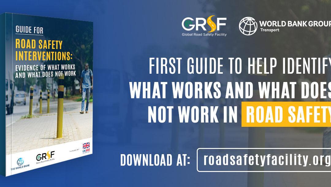 Новый отчет GRSF: Руководство по мерам безопасности дорожного движения