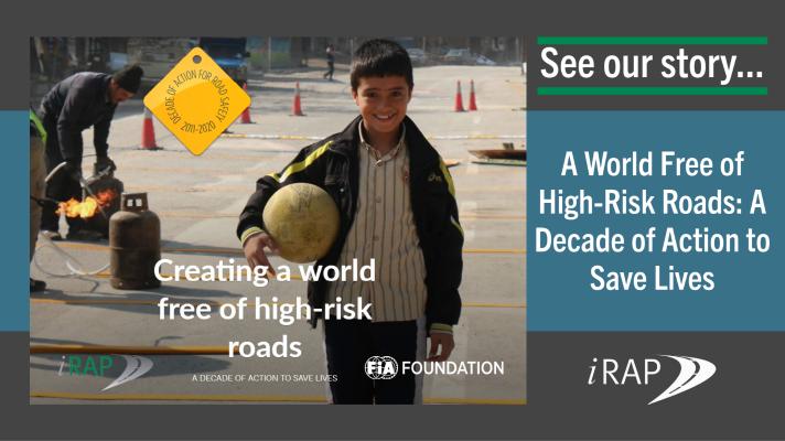 Десятилетие действий за более безопасные дороги: iRAP опубликовал результаты