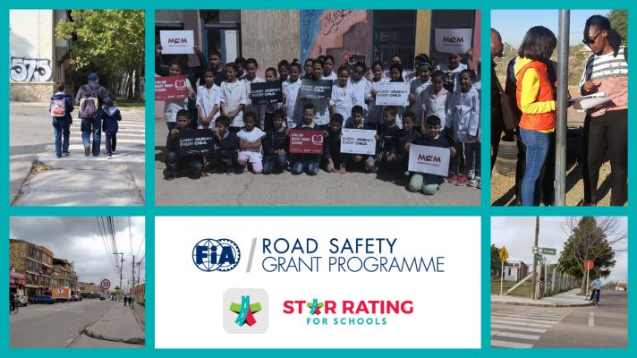 Партнерство FIA и Star Rating for Schools повышает безопасность школьных поездок через клубы по всему миру