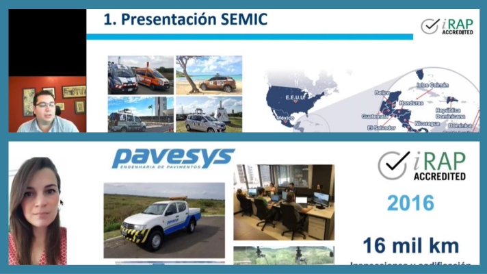 Dissemination presentations: New videos from Pavesys & SEMIC on iRAP assessments